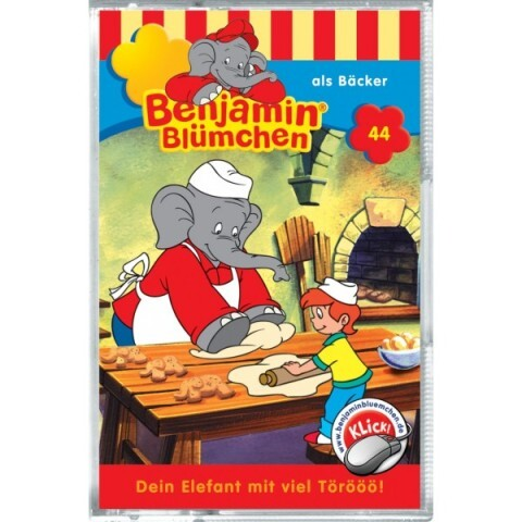 Benjamin Blümchen: Folge 044: als Bäcker als Audio-Cassette