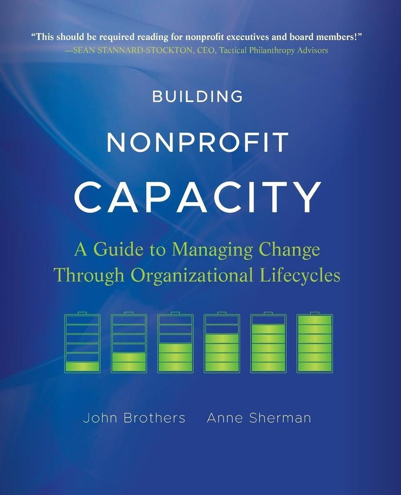 Building Nonprofit Capacity als Taschenbuch