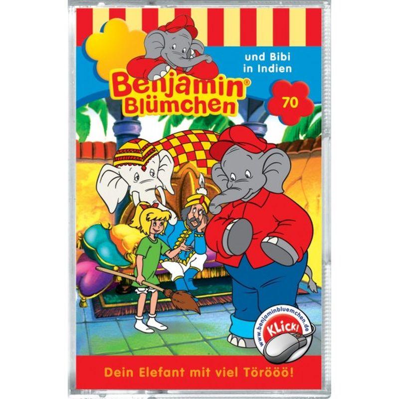 Benjamin Blümchen 070. ... und Bibi in Indien. Cassette als Hörbuch