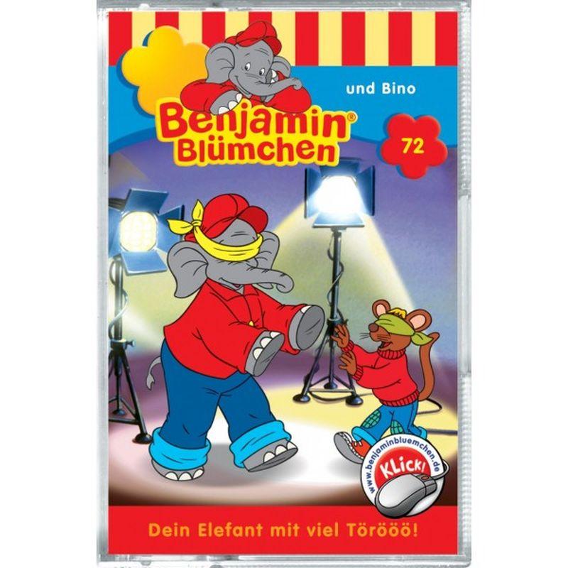 KIDDINX - MC Benjamin Blümchen ' und Bino (Folge 72) als Hörbuch