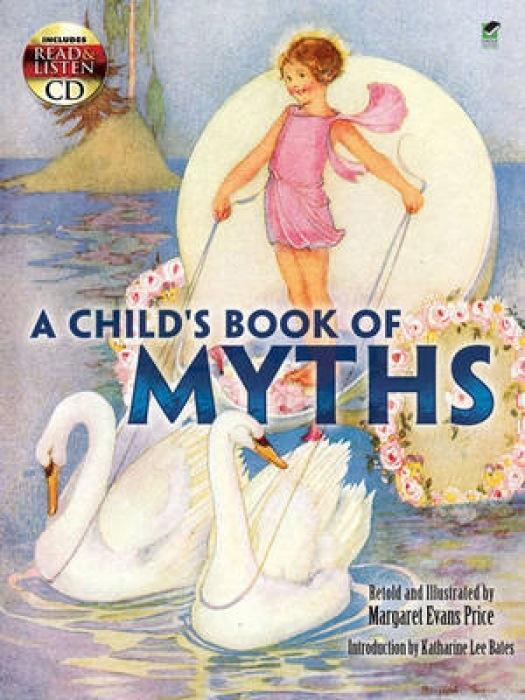 A Child's Book of Myths [With CD (Audio)] als Taschenbuch