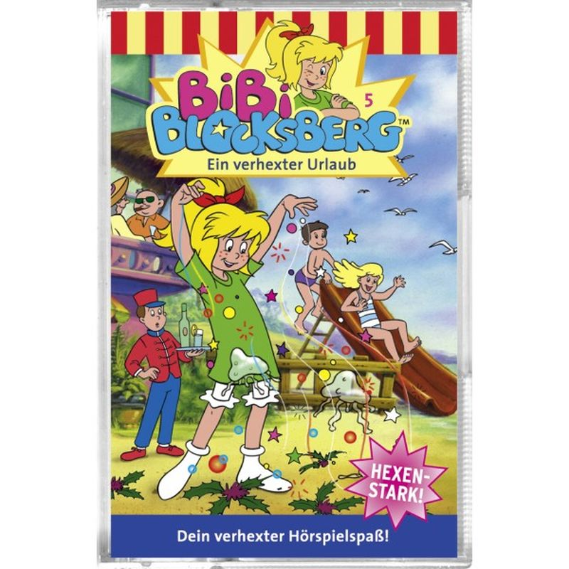 Bibi Blocksberg 006. Die Kuh im Schlafzimmer. Cassette als Hörbuch