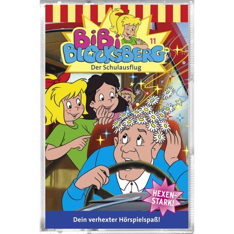 Bibi Blocksberg 011. Der Schulausflug. Cassette als Hörbuch