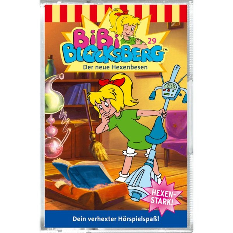 Bibi Blocksberg 029. Der neue Hexenbesen. Cassette als Hörbuch