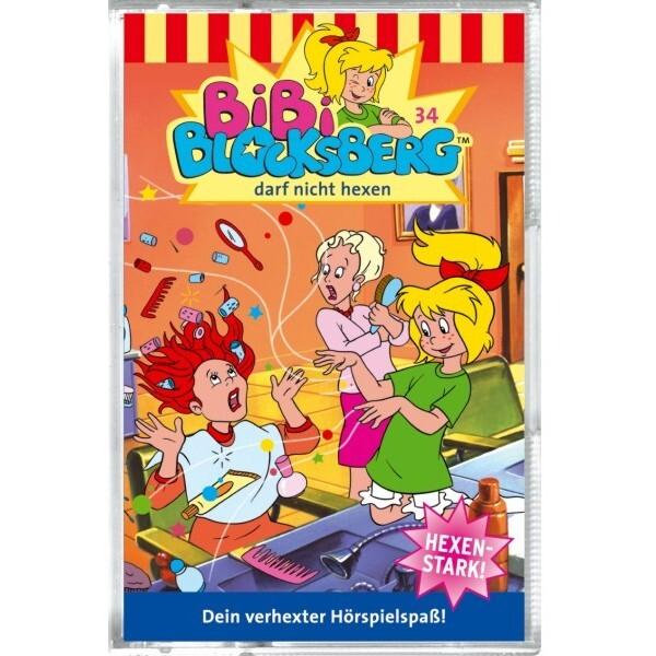 Bibi Blocksberg 034. darf nicht hexen. Cassette als Hörbuch