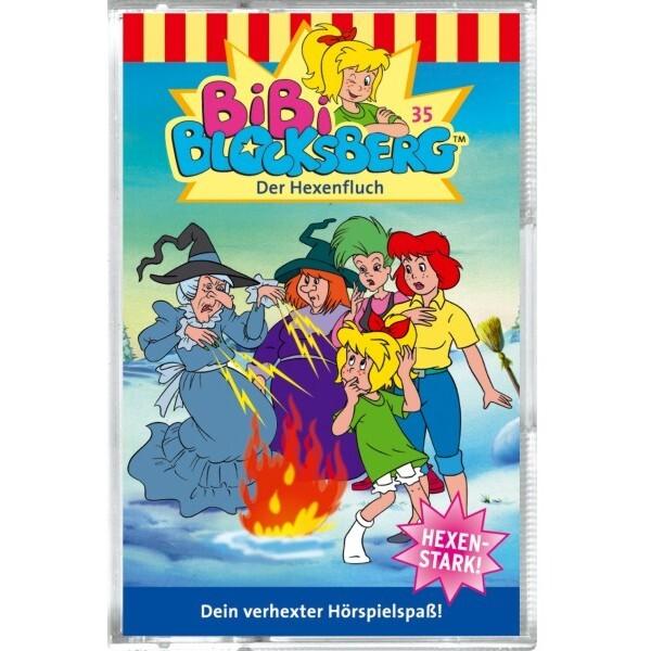 Bibi Blocksberg 035. Der Hexenfluch. Cassette als Hörbuch