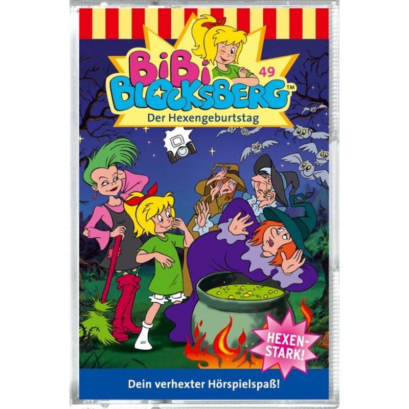 Bibi Blocksberg 049. Der Hexengeburtstag. Cassette als Hörbuch