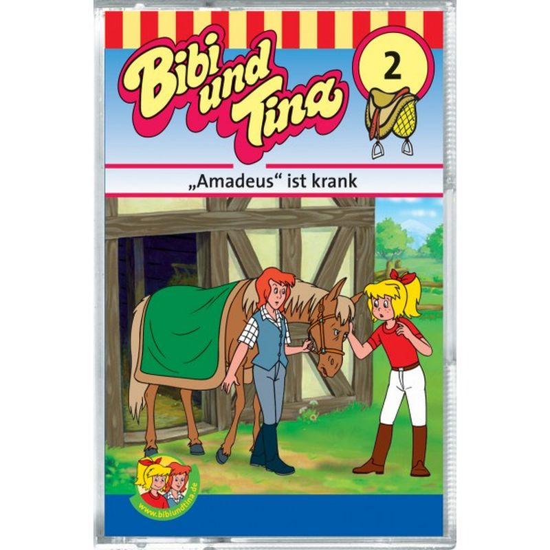 Bibi und Tina 02. Amadeus ist krank. Cassette als Hörbuch