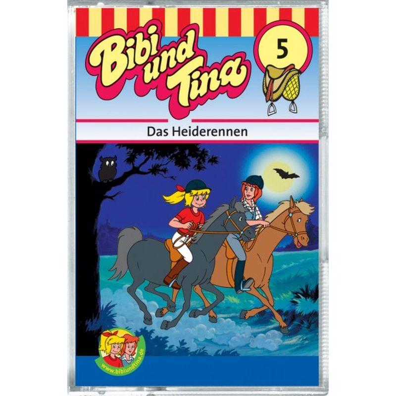Bibi und Tina 05. Das Heiderennen. Cassette als Hörbuch