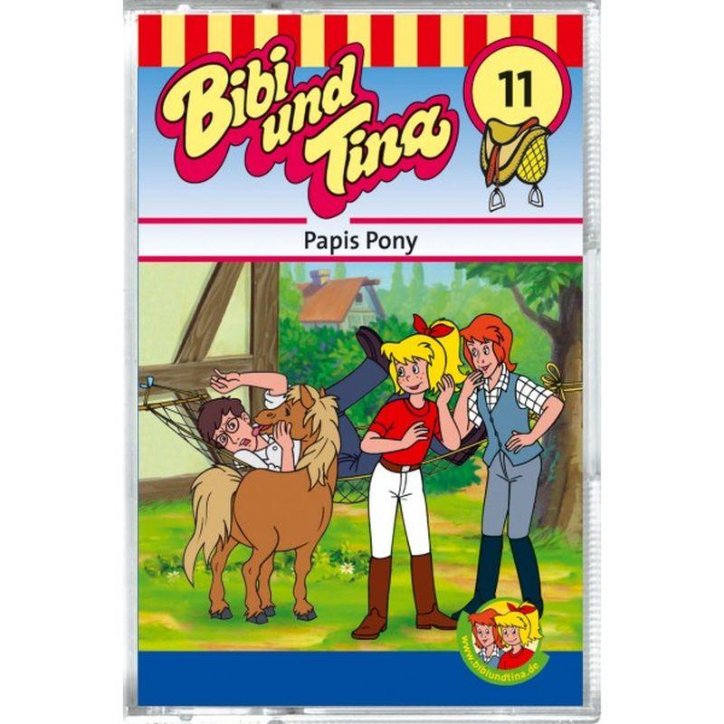 Bibi & Tina: Folge 11: Papis Pony als CD