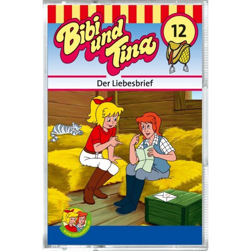 Bibi und Tina 12. Der Liebesbrief. Cassette als Hörbuch