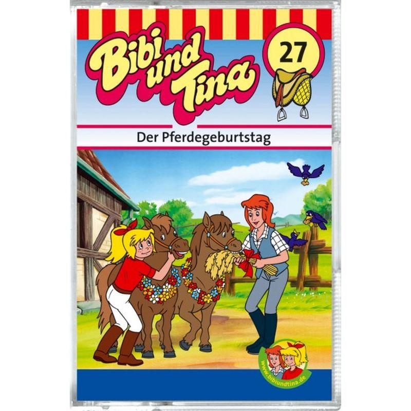 Bibi und Tina 27. Der Pferdegeburtstag. Cassette als Hörbuch