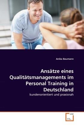 Ansätze eines Qualitätsmanagements im Personal ...