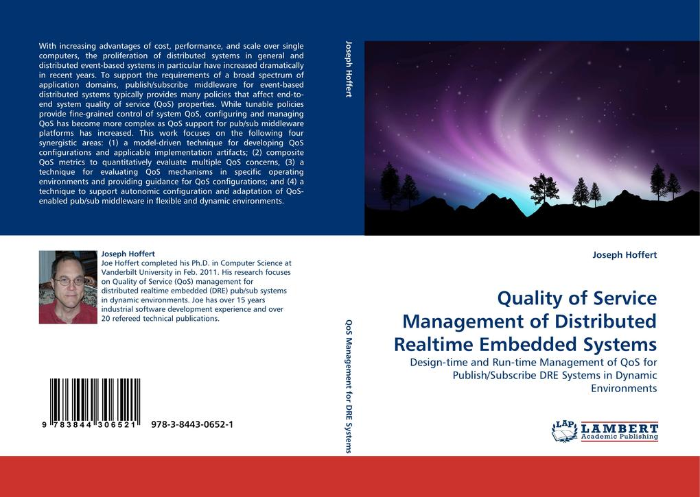Quality of Service Management of Distributed Realtime Embedded Systems als Buch (gebunden)