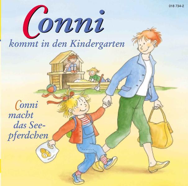 Conni 1 kommt in den Kindergarten. Conni macht das Seepferdchen. CD als Hörbuch