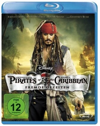 Pirates of the Caribbean - Fremde Gezeiten als Blu-ray
