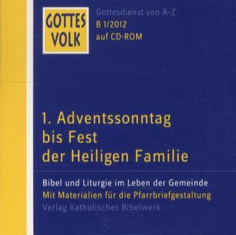 Gottes Volk LJ B1/2012 CD-ROM