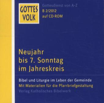 Gottes Volk LJ B2/2012 CD-ROM