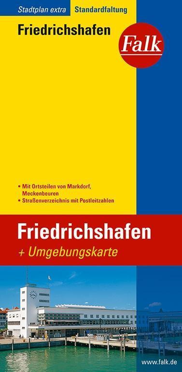 Falk Stadtplan Extra Standardfaltung Friedrichshafen als Buch