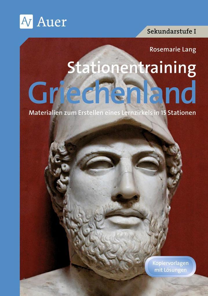 Stationentraining Griechenland als Buch