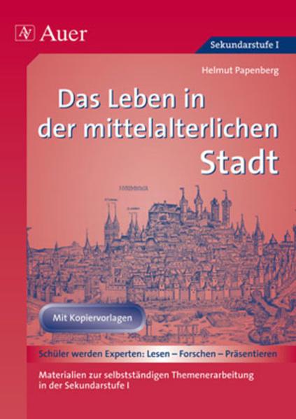Das Leben in der mittelalterlichen Stadt als Buch