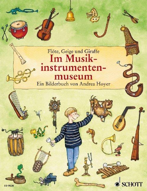 Flöte, Geige und Giraffe als Buch