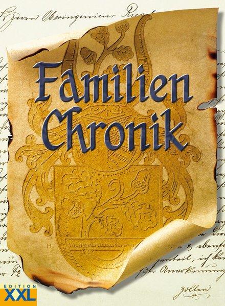 Familienchronik als Buch