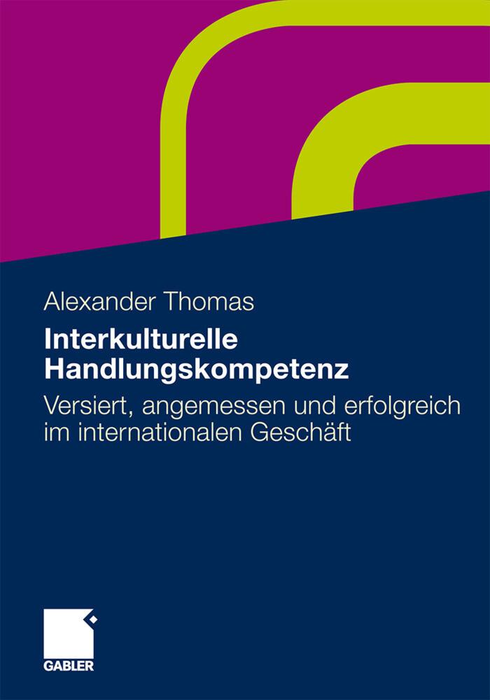 Interkulturelle Handlungskompetenz als Buch von...