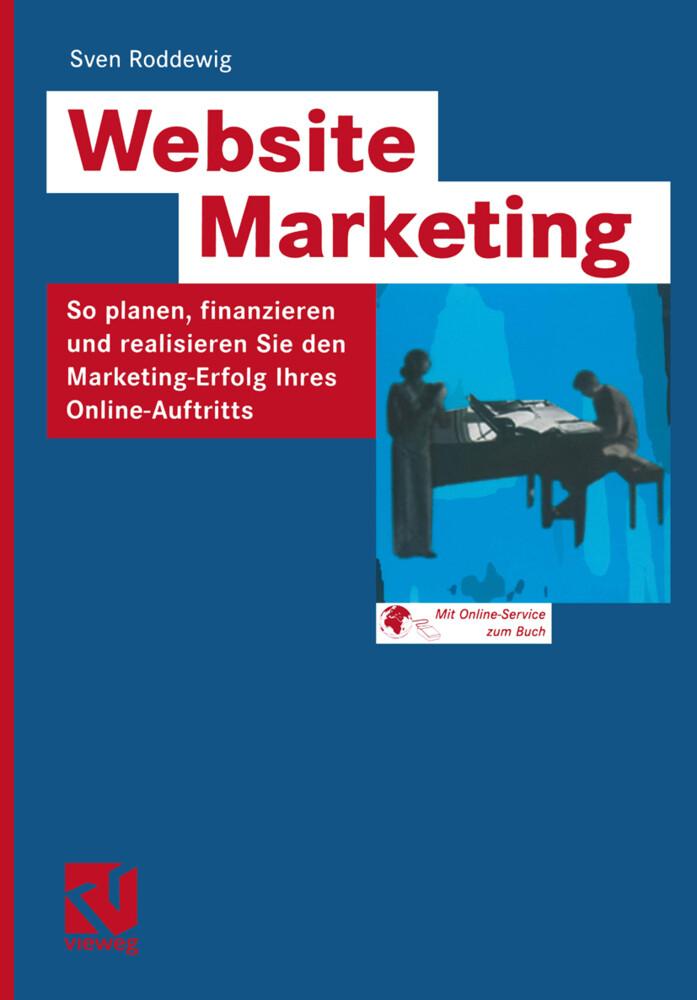Website Marketing als Buch