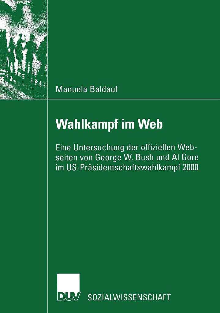 Wahlkampf im Web als Buch