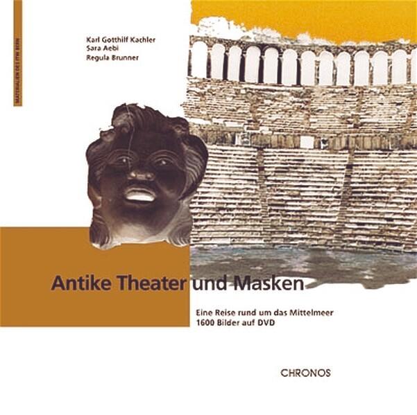 Antike Theater und Masken als Buch