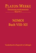 IX 2 Nomoi (Gesetze) Buch VIII-XII