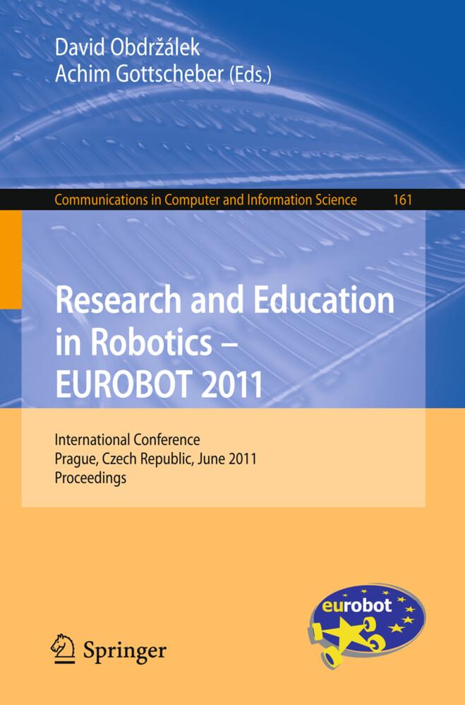 Research and Education in Robotics - EUROBOT 2011 als Buch (gebunden)