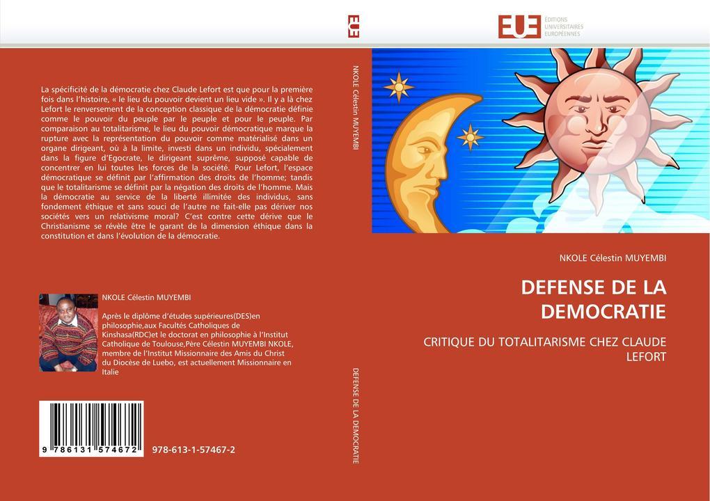 DEFENSE DE LA DEMOCRATIE als Buch (gebunden)