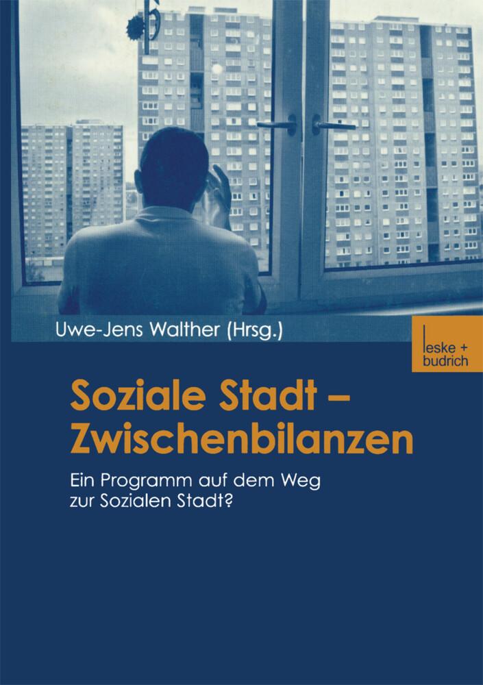 Soziale Stadt - Zwischenbilanzen als Buch (gebunden)