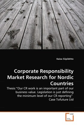 Corporate Responsibility Market Research for Nordic Countries als Buch (gebunden)