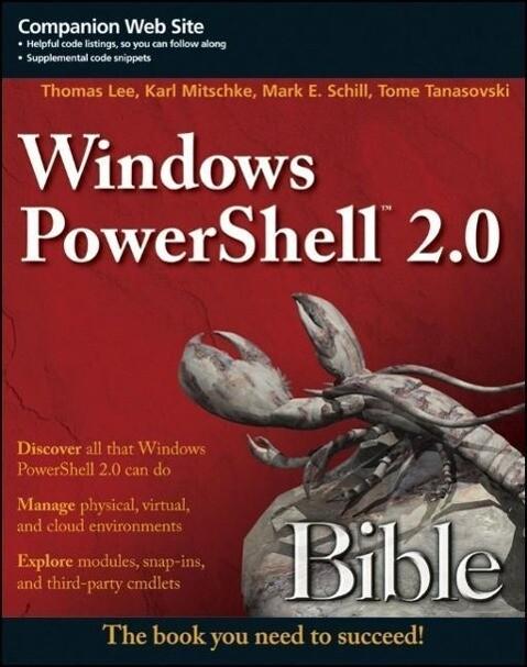 Windows PowerShell 2.0 Bible als Buch (gebunden)