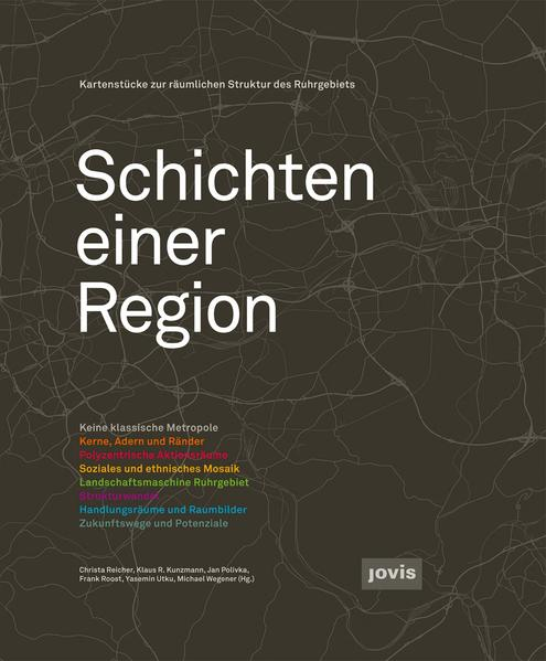 Schichten einer Region als Buch (gebunden)