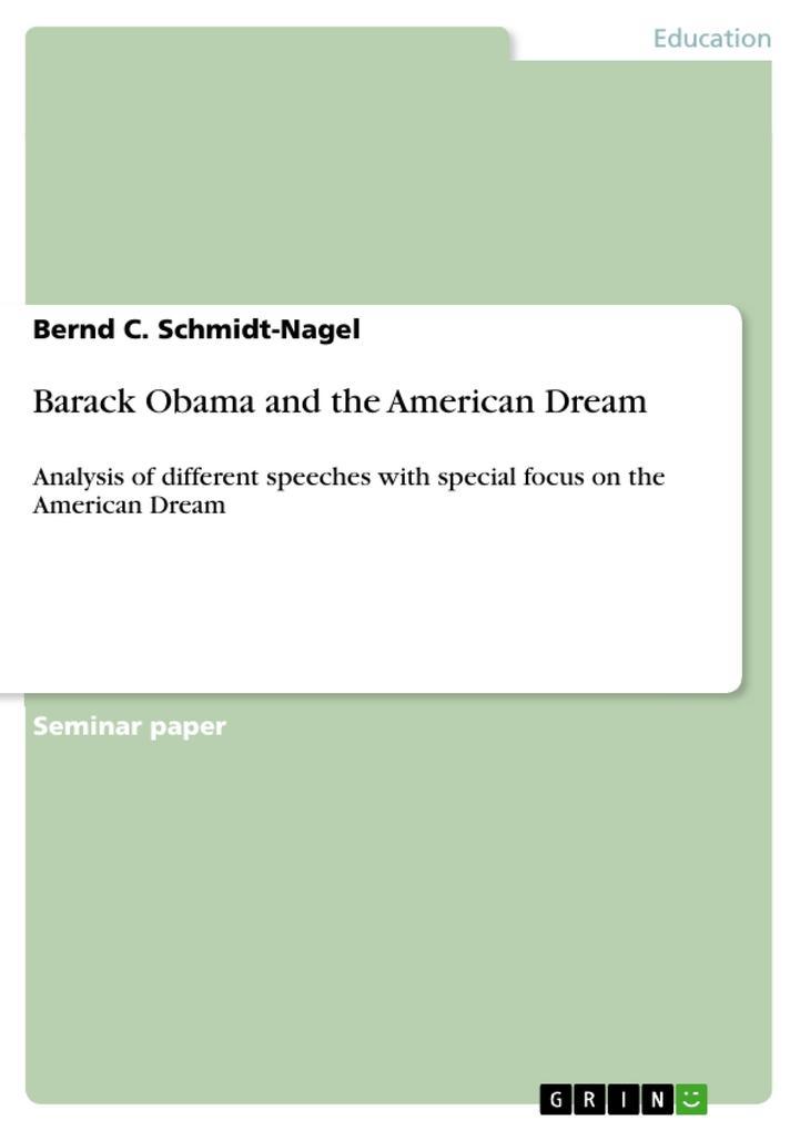 Barack Obama and the American Dream als Buch (gebunden)