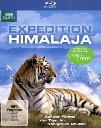 Expedition Himalaja - Auf der Fährte der Tiger im Königreich Bhutan als Blu-ray