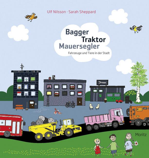 Bagger Traktor Mauersegler als Buch (gebunden)
