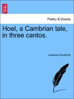 Hoel, a Cambrian tale, in three cantos. als Taschenbuch