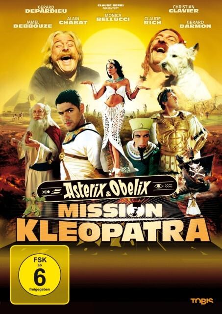 Asterix und Obelix. Mission Cleopatra als DVD