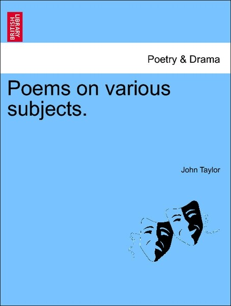 Poems on various subjects. Vol. I als Taschenbuch