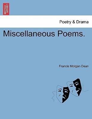 Miscellaneous Poems. als Taschenbuch
