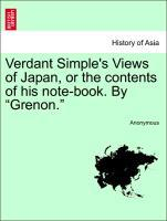 Verdant Simple´s Views of Japan, or the content...