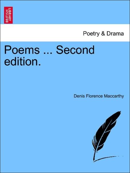 Poems ... Second edition. als Taschenbuch