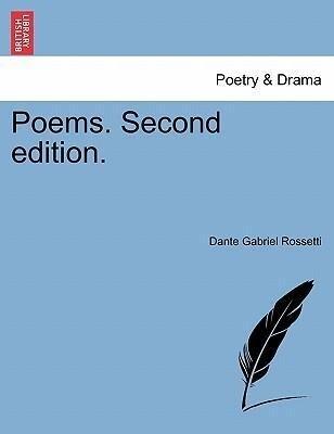 Poems. Second edition. als Taschenbuch
