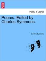Poems. Edited by Charles Symmons. als Taschenbuch