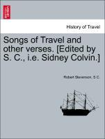 Songs of Travel and other verses. [Edited by S. C., i.e. Sidney Colvin.] als Taschenbuch